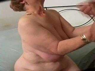 Big Butt Curvy Granny