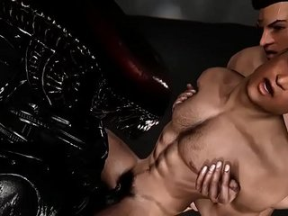 Alien Lust 3 3d gay games