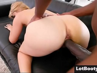 Fat ass blonde busty MILF Alix Lovell gets huge black dick